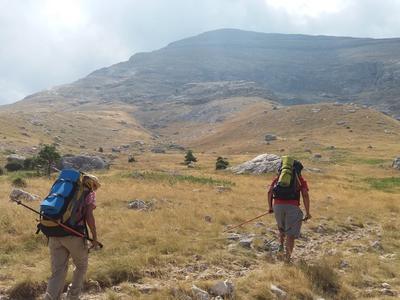 Hiking / Trekking: Multi-Day Hiking on Menalo Trail in Arcadia near Kalamata