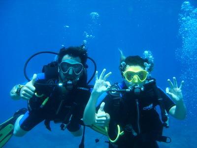 Scuba Diving: PADI scuba diving courses in Skala, Kefalonia