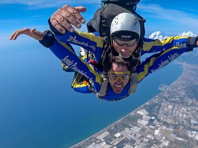 Tandem Skydive from 4200m over Amalfi Coast near Naples