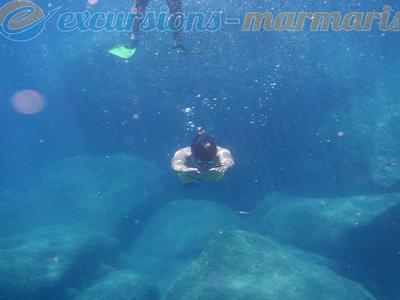 Snorkeling: Snorkeling Boat Trip in Marmaris
