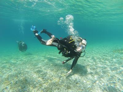 Scuba Diving Course for Beginners in Marina di Gioiosa Ionica, Calabria