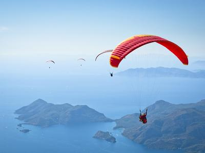 Paragliding: Paragliding over Oludeniz from Marmaris