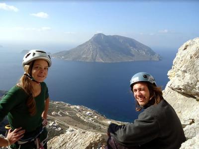 Rock climbing: Multi-pitch Climbing Courses in Kalymnos