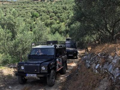 4x4: All-inclusive Jeep Tour from Rethymno