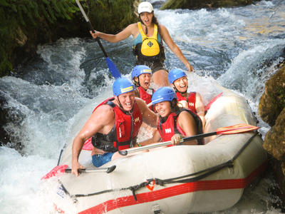 Exciting Rafting trip down the Cetina River in Omis