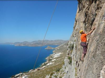 Rock climbing: Kalymnos Intermediate Climbing Course