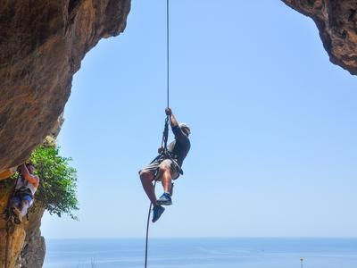 Rock climbing: Rock Climbing and Abseiling in Rhodes