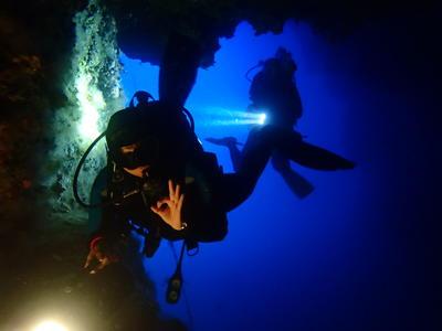 Scuba Diving: Tec Rec Courses in Paxos