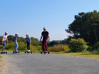 Randonnée skate électrique à Seignosse
