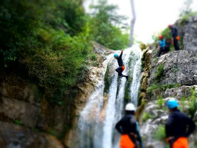 Canyoning on Mt Olympus