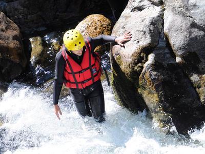 River Trekking near Alagna Valsesia, Aosta Valley