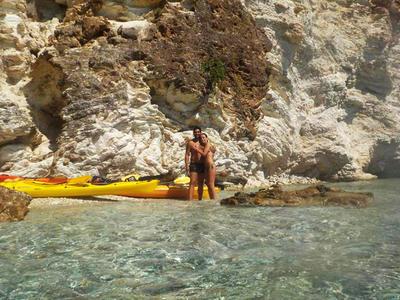 Sea Kayaking: Sea Kayaking Excursion in Rouda Bay, from Mikros Gialos, Lefkada