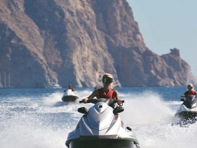 Jet Ski Safari Starting From Perivolos beach, Santorini