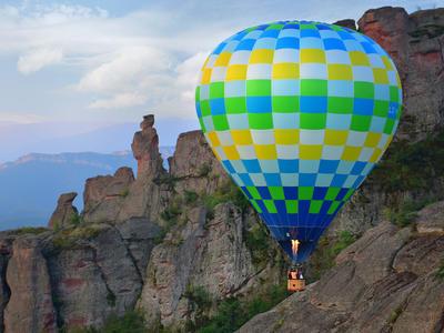 Hot Air Balloon Flight over the legendary Belogradchik Rocks