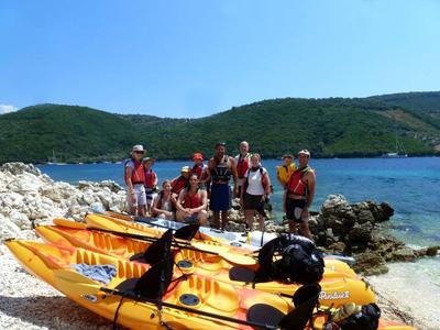 Sea Kayaking: Sea Kayaking Excursion to Agios Ioannis, from Mikros Gialos, Lefkada