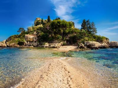 Boat Tour of Isola Bella in Taormina