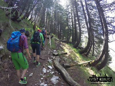 Hiking in the Prenj Mountain Range, Bosnia and Herzegovina