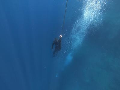 Freediving: PADI Freediving courses in Antiparos