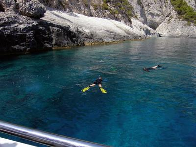 Snorkeling: Half-Day Snorkeling Boat Tour in South Zante, from Laganas