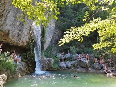 Hiking / Trekking: Hike and dive in Orlias Waterfalls, Mount Olympus