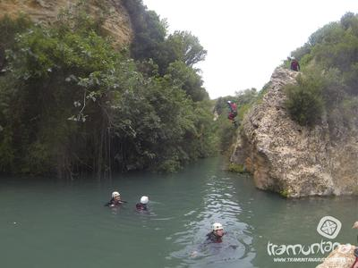 Canyoning at Gorgo de la Escalera in Alicante