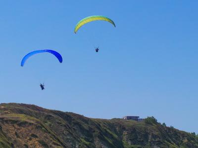 Tandem paragliding in Santa Pola near Alicante