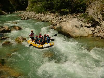 Rafting: Rafting in Voidomatis River