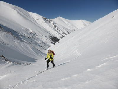 Ski touring: Ski Touring Mount Olympus from Thessaloniki