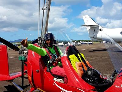 Survol de la Martinique en Autogire (ULM)