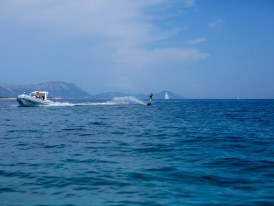 Boat Wakeboarding Sessions in Lumbarda, Korčula