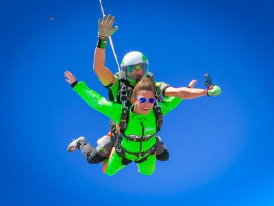 Tandem Skydiving in Algarve, near Portimao