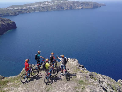 Southside E-bike Island Tour of Santorini, Greece