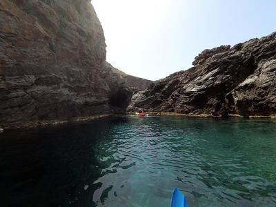 Sea Kayaking tour along the peninsula of Rodopo, Kolymbari