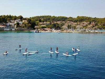 Stand up Paddle Tour in Lumbarda near Korčula