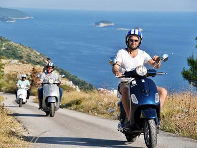 Tour to the source of the Ombla River with a Vespa from Dubrovnik