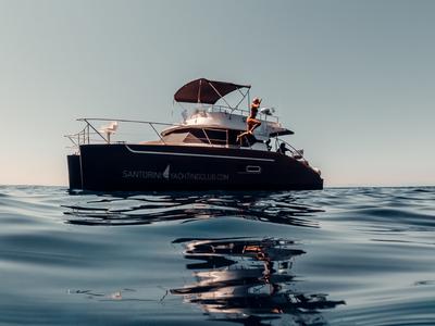 Sailing: Private Cruise in Santorini with Highland 35 Power Catamaran