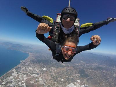 Tandem Skydive from 4500m over Amalfi Coast near Naples