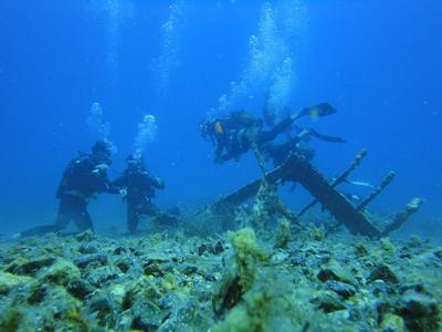 Scuba Diving: Adventure Dives from Paradise Beach, Mykonos