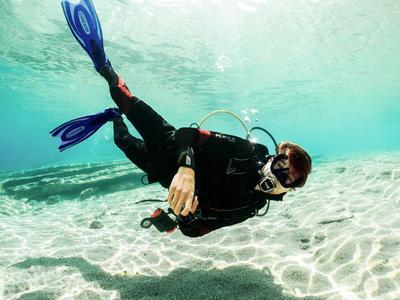 Scuba Diving: Discover Scuba Diving from Paradise Beach, Mykonos
