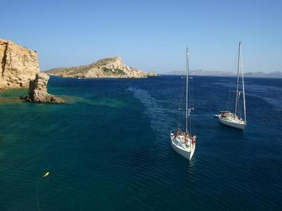 Sailing: All Inclusive Sailing Day Cruise to South Mykonos Beach, Rhenia & Delos Islands