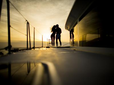 Sailing: Semi-private Comfort Sunset Sailing Cruise from Vlychada Port