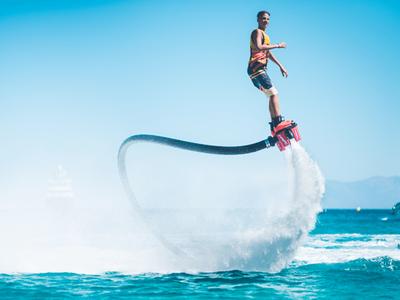 Flyboard / Hoverboard: Flyboard in Mykonos beach