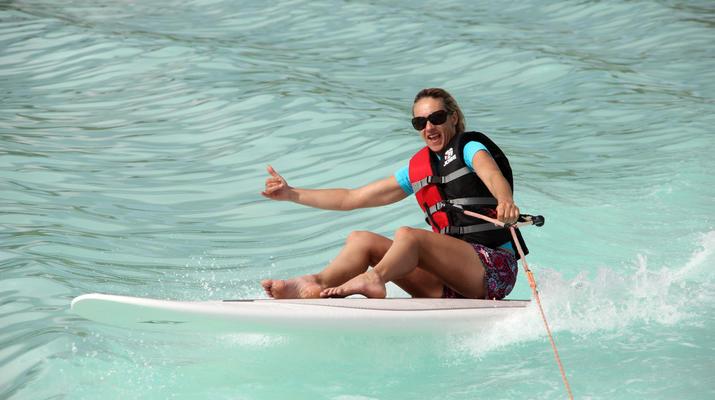 Wakeboard-Bora Bora-Séance de wakeboard à Bora Bora, Polynésie française-1