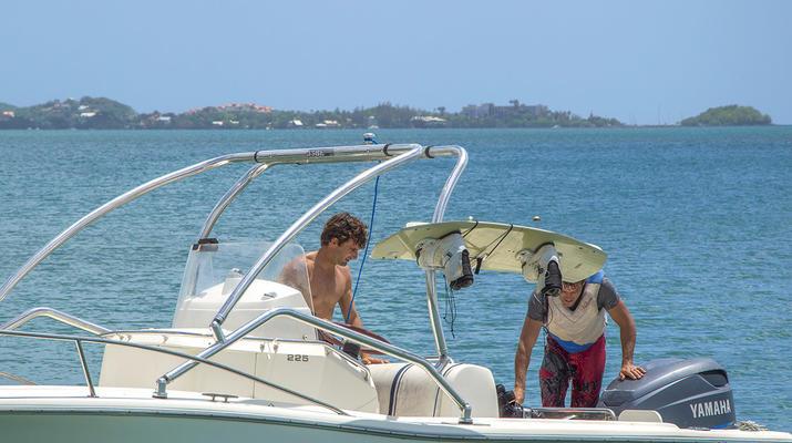 Kitesurf-Les Trois-Îlets-Cours de Kitesurf à la Pointe du Bout, Martinique-6