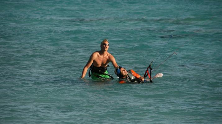 Kitesurf-Bora Bora-Cours de kitesurf à Bora Bora, Polynésie française-5