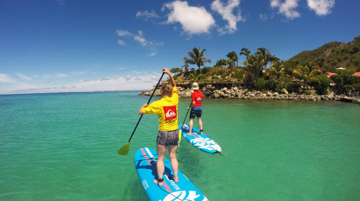 Stand up Paddle-Saint Martin-Stand Up Paddle excursion in Saint Martin-4