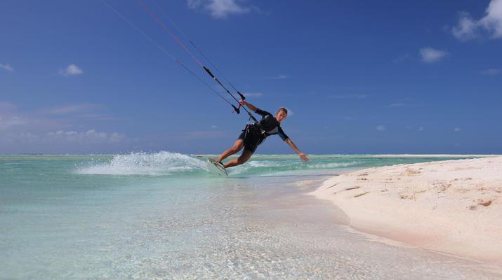 Kitesurf-Bora Bora-Cours de kitesurf à Bora Bora, Polynésie française-3