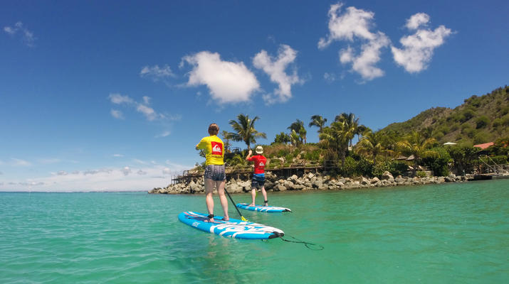 Stand up Paddle-Saint Martin-Stand Up Paddle excursion in Saint Martin-5