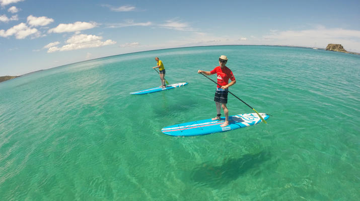 Stand up Paddle-Saint Martin-Stand Up Paddle excursion in Saint Martin-3