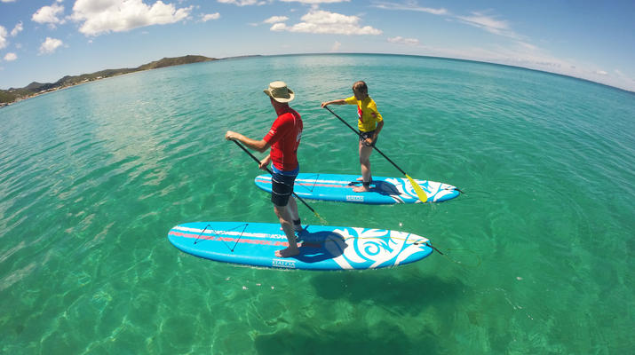Stand up Paddle-Saint Martin-Stand Up Paddle excursion in Saint Martin-1